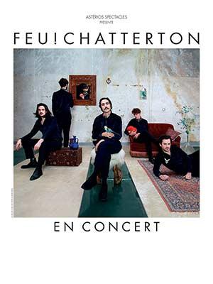 FEU ! CHATTERTON THEATRE concert de chanson française