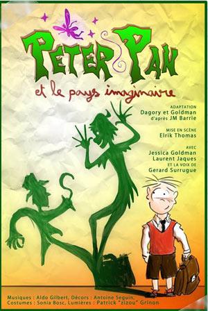 Plus d'infos sur l'évènement PETER PAN ET LE PAYS IMAGINAIRE