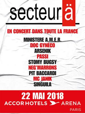 SECTEUR A Zénith Arena De Lille concert de rap hip-hop