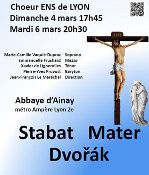 Plus d'infos sur l'évènement STABAT MATER DE DVORAK