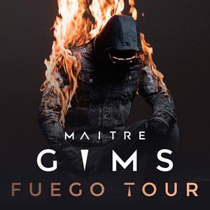 MAITRE GIMS SUD DE FRANCE ARENA concert de rap hip-hop