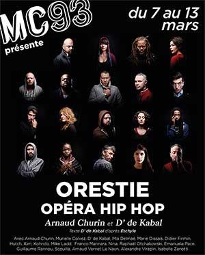 ORESTIE, OPERA HIP HOP MC93 événement