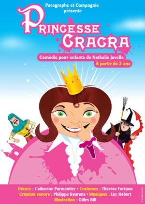 PRINCESSE CRACRA Théâtre Essaion de Paris pièce de théâtre pour enfant
