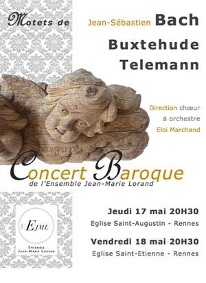 ENSEMBLE JEAN-MARIE LORAND EGLISE SAINT-AUGUSTIN concert de musique classique