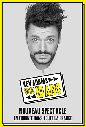 KEV ADAMS Théâtre de Longjumeau one man/woman show