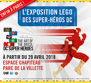 THE ART OF THE BRICK: ESPACE CHAPITEAU exposition
