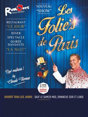 Plus d'infos sur l'évènement ''LES FOLIE'S DE PARIS  !''