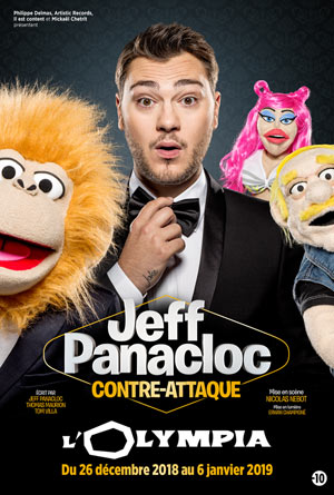 JEFF PANACLOC CONTRE ATTAQUE L'Olympia one man/woman show