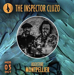 Plus d'infos sur l'évènement THE INSPECTOR CLUZO