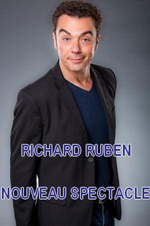 RICHARD RUBEN Théâtre de La Fontaine d'Argent one man/woman show