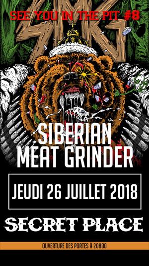 Plus d'infos sur l'évènement SIBERIAN MEAT GRINDER