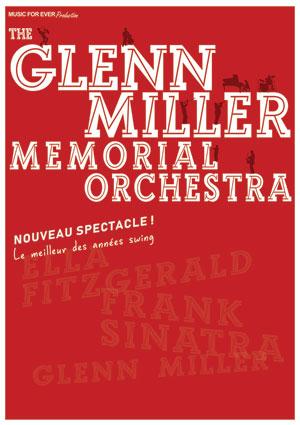 THE GLENN MILLER MEMORIAL ORCHESTRA ESPACE DOLLFUS ET NOACK concert de jazz