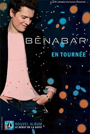BENABAR Le Liberté concert de chanson française
