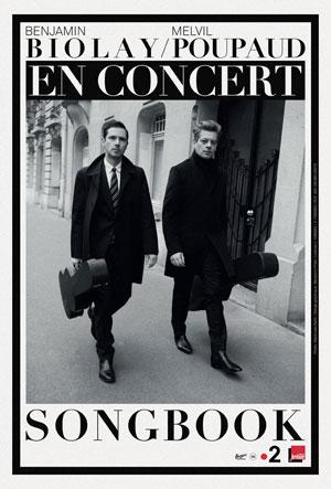 BENJAMIN BIOLAY & MELVIL POUPAUD L'Olympia concert de chanson française