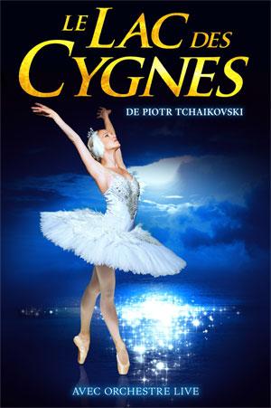 LE LAC DES CYGNES Carré des Docks -Le Havre Normandie spectacle de danse classique