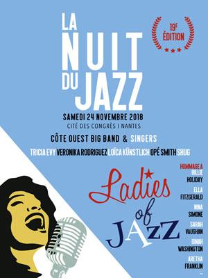 LES 19 EMES NUITS DU JAZZ CITE DES CONGRES concert de jazz