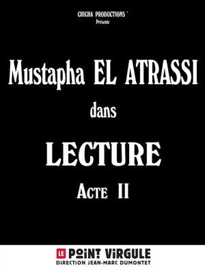 Plus d'infos sur l'évènement MUSTAPHA EL ATRASSI