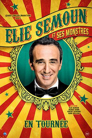 ELIE SEMOUN ET SES MONSTRES Centre d'art et de culture one man/woman show