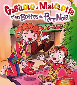 GABILOLO, MALOLOTTE ET THEATRE DE JEANNE pièce de théâtre pour enfant