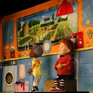 GRABUGE DANS LE FRIGO ! THEATRE DE JEANNE pièce de théâtre pour enfant