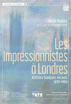 LES IMPRESSIONNISTES À LONDRES, Petit Palais exposition