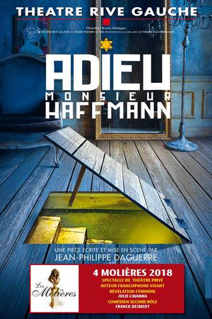 ADIEU MONSIEUR HAFFMANN Théâtre rive gauche pièce de théâtre contemporain