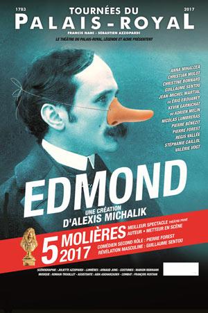 EDMOND THEATRE DE LA CITADELLE pièce de théâtre contemporain