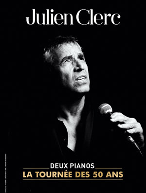 JULIEN CLERC Les Fuseaux concert de chanson française
