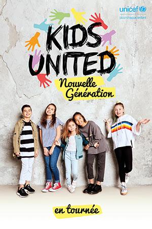 Plus d'infos sur l'évènement KIDS UNITED - NOUVELLE GENERATION