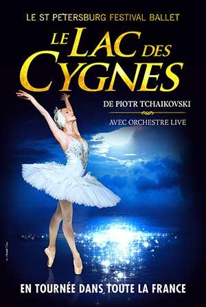 LE LAC DES CYGNES Brest Aréna spectacle de danse classique