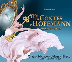 LES CONTES D'HOFFMANN BALLET-3 ACT. ZENITH AMIENS spectacle de danse classique