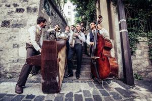HOT SUGAR BAND Musée d'Orsay concert de jazz