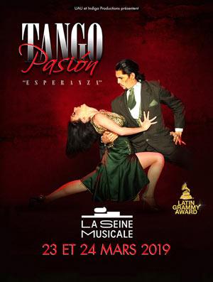TANGO PASION ESPERANZA La Seine Musicale spectacle de danse du monde