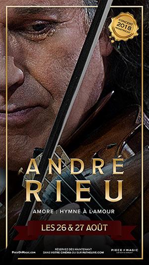 Plus d'infos sur l'évènement ANDRÉ RIEU - AMORE