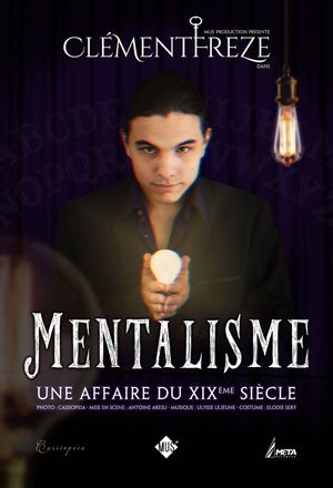 Plus d'infos sur l'évènement CLEMENT FREZE MENTALISME