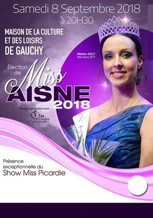 ELECTION MISS AISNE 2018 MAISON DE LA CULTURE évènement