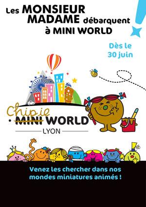 MINI WORLD LYON - DATÉ POLE COM. & LOISIRS CARRE DE SOIE événement