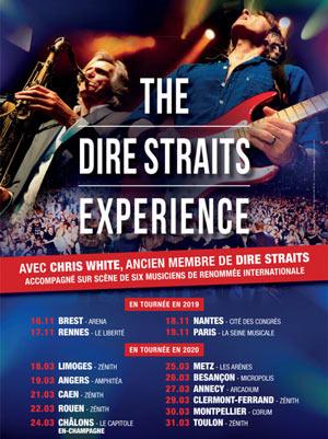 THE DIRE STRAITS EXPERIENCE Le Corum concert de rock