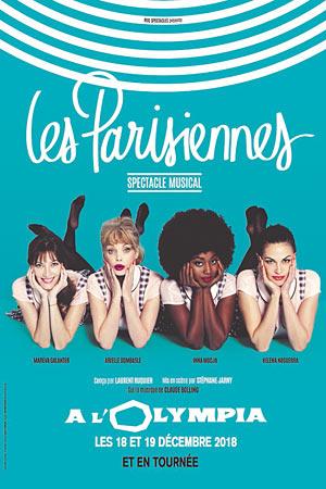 LES PARISIENNES L'Olympia spectacle