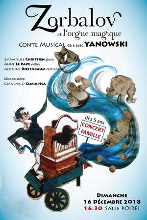 Plus d'infos sur l'évènement YANOWSKI