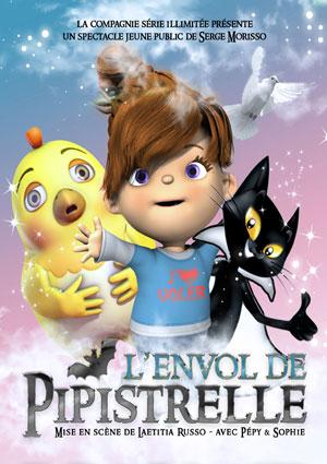L'ENVOL DE PIPISTRELLE THEATRE BELLECOUR spectacle pour enfant