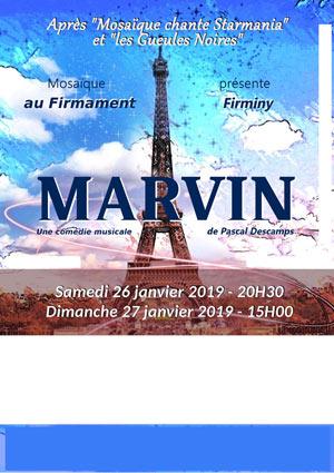 Plus d'infos sur l'évènement MARVIN