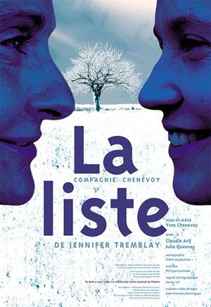 LA LISTE Théâtre Essaion de Paris pièce de théâtre contemporain