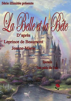 LA BELLE ET LA BETE THEATRE BELLECOUR pièce de théâtre contemporain