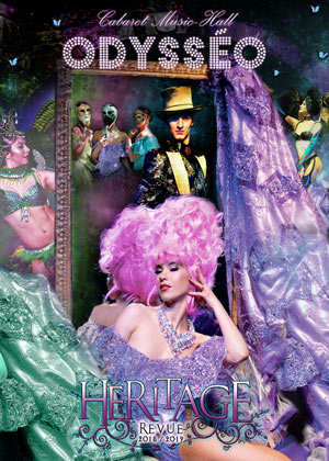 CABARET ODYSSEO ODYSSEO revue, cabaret
