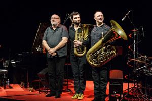 ANDY EMLER TUBAFEST 2 Le Triton concert de jazz