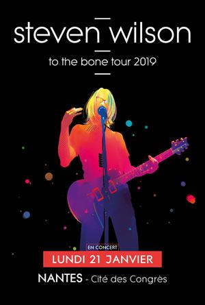 STEVEN WILSON CITE DES CONGRES concert de rock