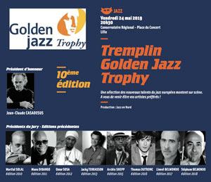 TREMPLIN GOLDEN JAZZ TROPHY CONSERVATOIRE REGIONAL concert de jazz