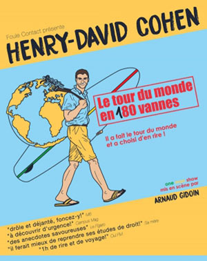 LE TOUR DU MONDE EN 180 VANNES COMEDIE DE LIMOGES one man/woman show
