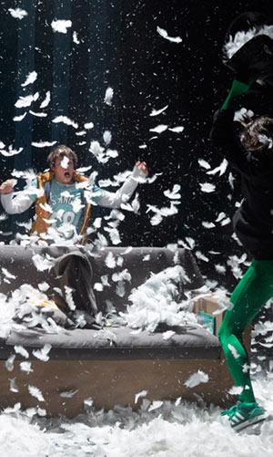 DORMIR 100 ANS, LA PART DES ANGES Espace Albert Camus pièce de théâtre contemporain